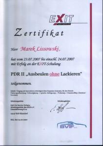 EXIT CAR Kiel PDR II