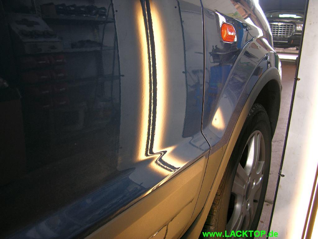 Delle Tuer Ford Fusion nachher