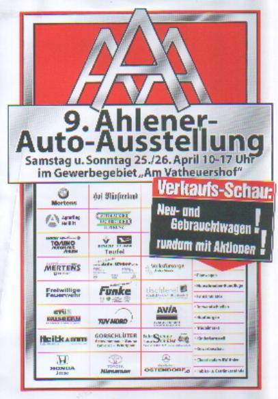 Ahlener Auto Austellung
