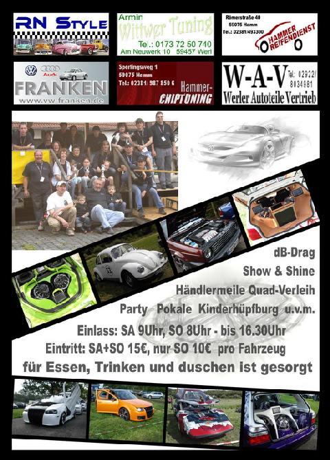 Beulendoktor beim VW Treffen
