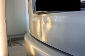 VW Touran Delle Heckdeckel vorher1