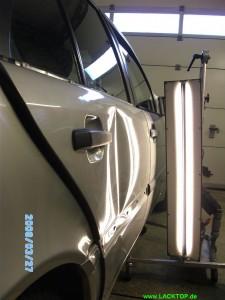 Mercedes C- Klasse Delle Tür VORHER 1