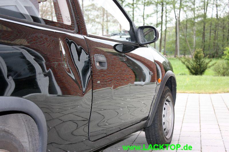 Opel Corsa Delle Seitenteil VORHER 2
