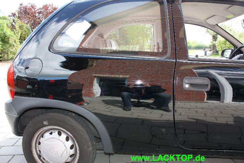 Opel Corsa Delle Seitenteil NACHHER 1