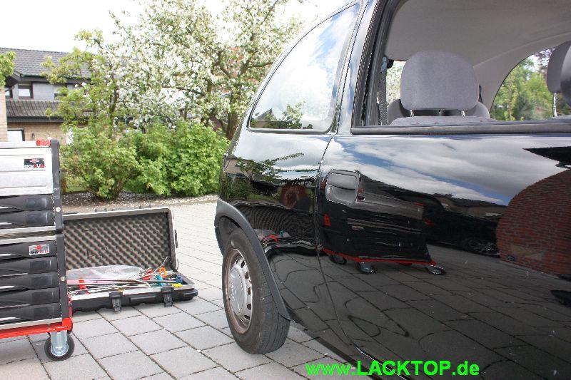 Opel Corsa Delle Seitenteil NACHHER 4