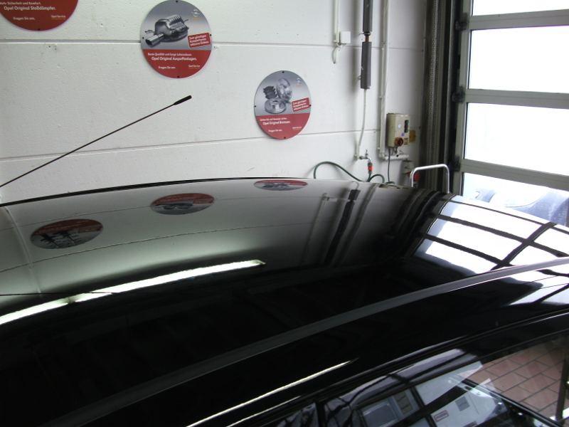 Dachlawine Hyundai i10 - NACHHER 1
