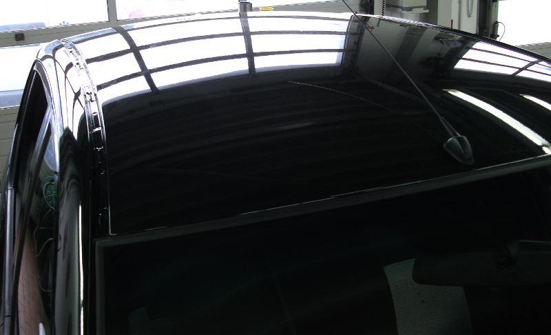 Dachlawine Hyundai i10 - NACHHER 3