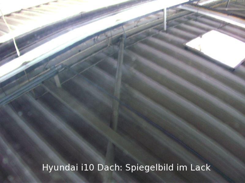 Dachlawine Hyundai i10 - NACHHER 4