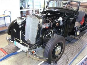 Oldtimer Daimler Benz von 1938 - 1