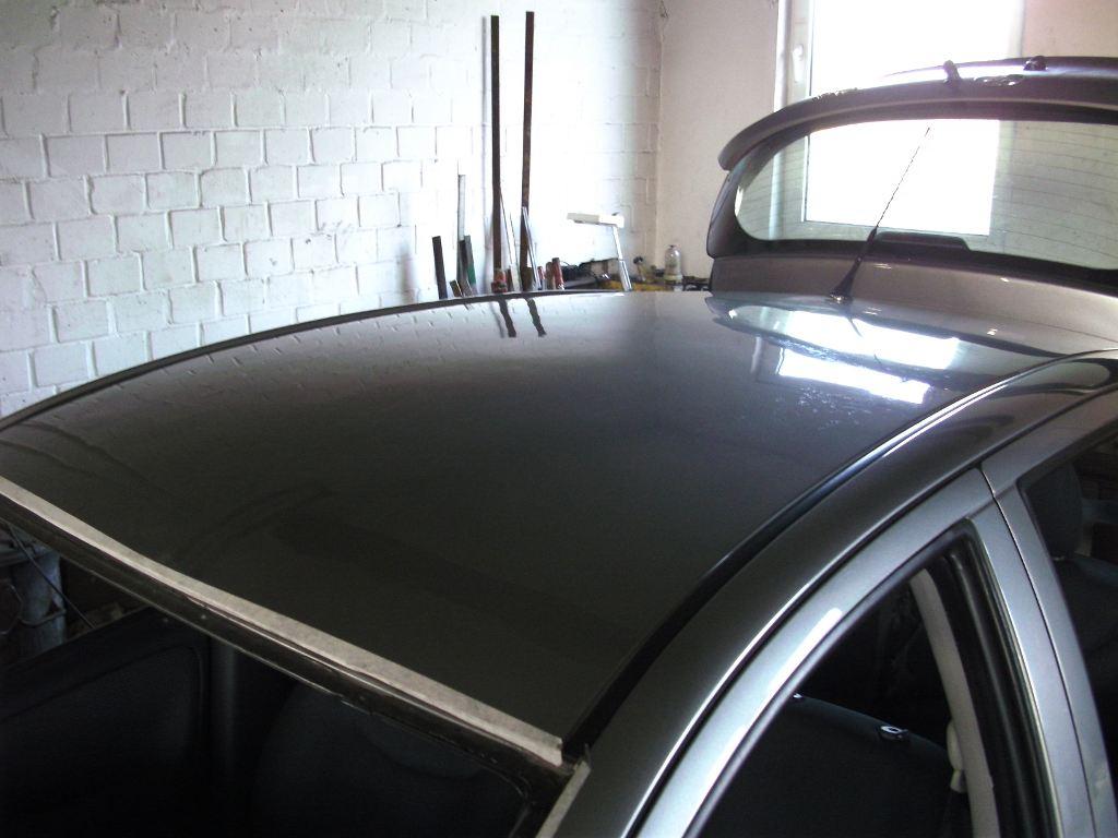 Dachlawinenschaden Toyota NACHHER 1