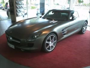 Mercedes SLR AMG matt