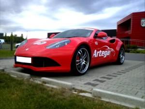 Artega GT front