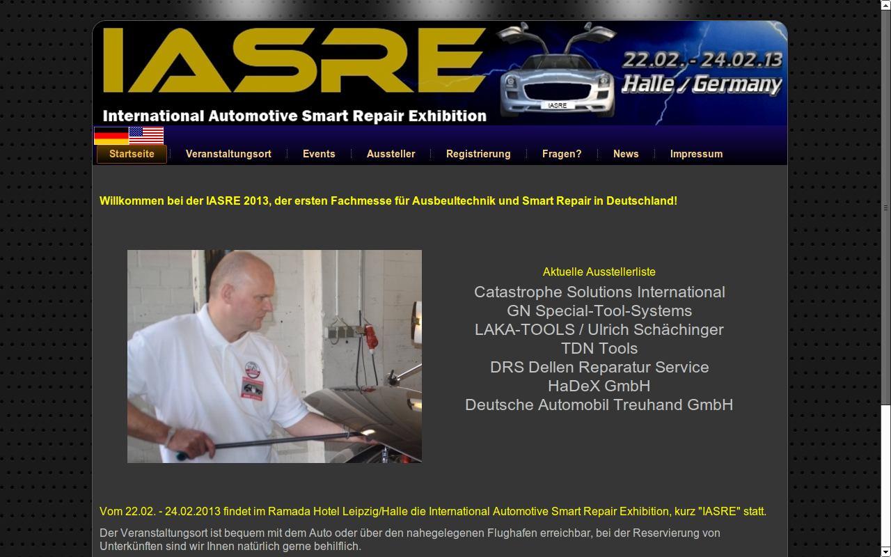 Dellenentfernung Lissowski auf IASRE Webseite
