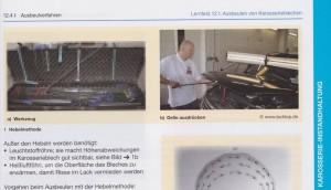 Lehrbuch Karosserie- und Fahrzeugbaumechaniker Hebeltechnik