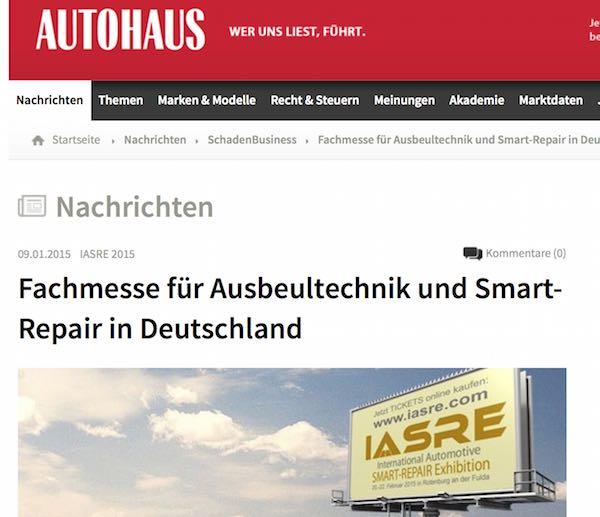 <!--:de-->Zweiter Gewinner steht fest, Beitrag über IASRE auf Autohaus.de, Pokale sind da<!--:-->